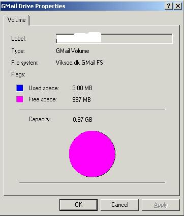 ���� ���� ������ Gmail Drive